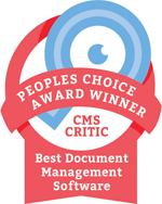 CMS Awards 2016 badge - Best Document Management Software